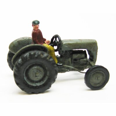 Design Toscano Earth Mover Replica Cast Iron Farm Toy Tractor