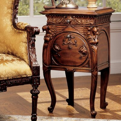 Design Toscano Falconcrest End Table