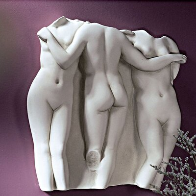 Design Toscano Three Graces Wall Décor