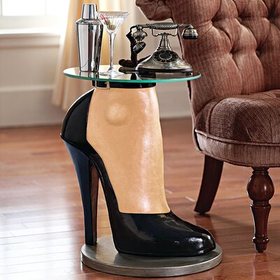 Stilettos Anyone Sculptural End Table