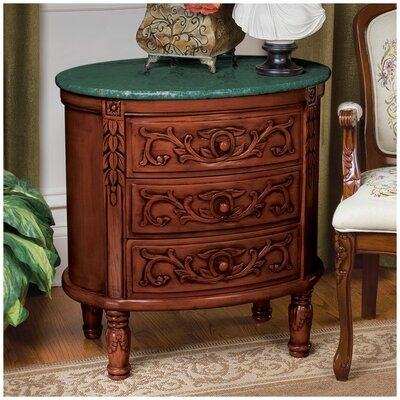 Design Toscano The Milton 3 Drawer Chest