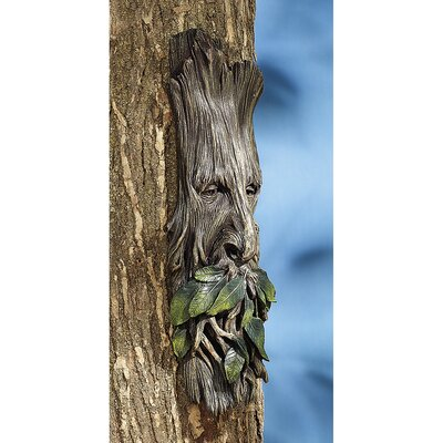 Design Toscano Whispering Wilhelm Tree Ent Wall Decor