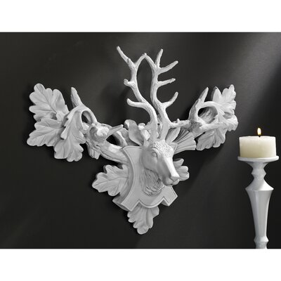 Tres Chic Deer Head Wall Sculpture