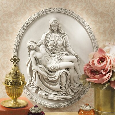 Pieta Wall Sculpture