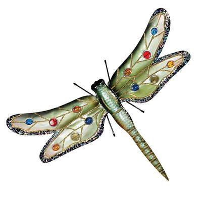 Design Toscano Oversized Dragonfly Wall Decor
