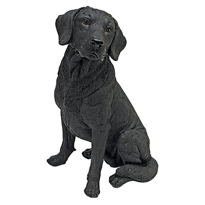 Labrador Retriever Dog Statue