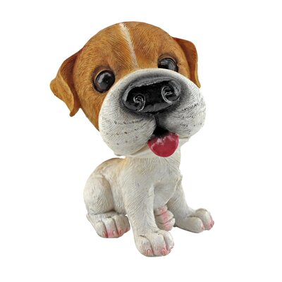 Design Toscano Prized Pup Jack Russell Terrier Puppy Dog Statue