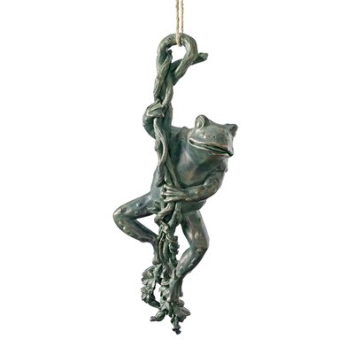 The Daring, Dangling Frog Statue