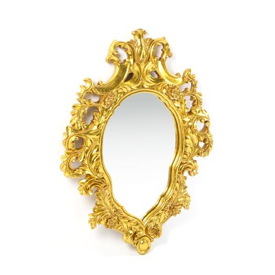 Design Toscano Madame Antoinette Salon Mirror in Faux Antique Gold