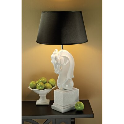 Design Toscano Knightly Horse Bust Table Lamp (Set of 2)