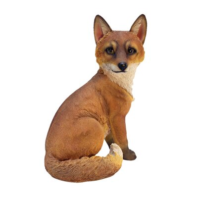 Woodie the Woodland Fox Garden Statue