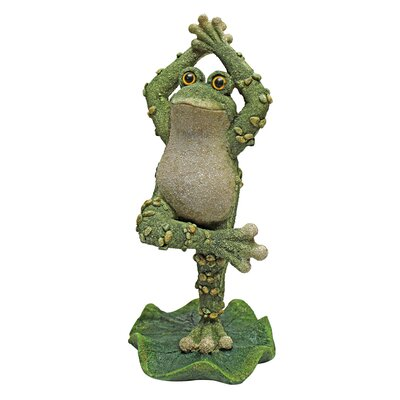 Boogie Down, Dancing Frog Hands Up Statue