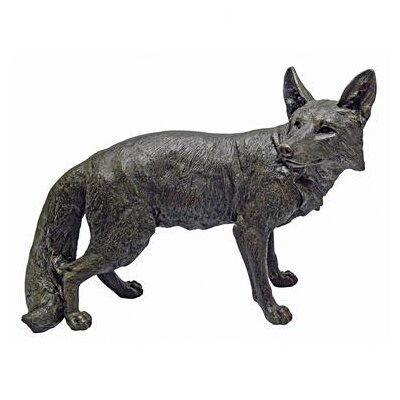 Bushy Tail Fox Statue