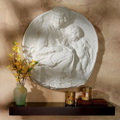 Design Toscano Tondo Pitti Madonna and Child Wall Décor