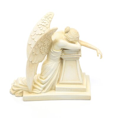 Design Toscano Angel of Grief Monument Statue in Stone