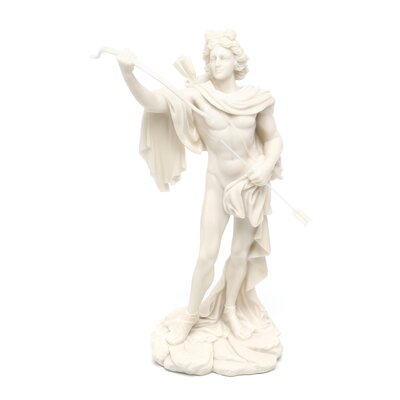 Design Toscano Apollo Classical Greek God Bonded Marble