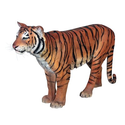 Powerful Pounce Sumatran Tiger Statue