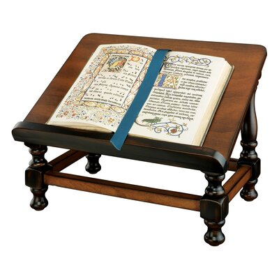 Design Toscano Antiquarian Wood Book Easel