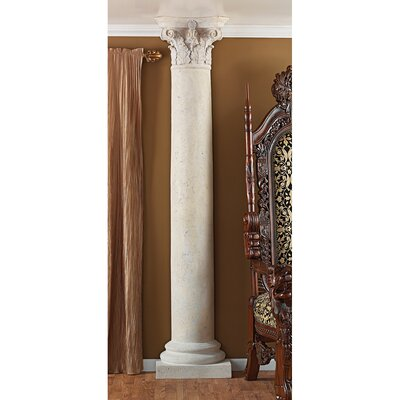 The Corinthian Architectural Half Column Wall Sculpture