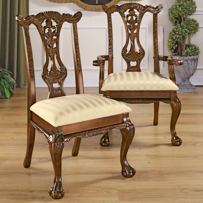 Cupid's Bow Chippendale Side Chair (Set of 6)