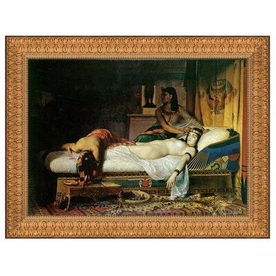 Design Toscano The Death of Cleopatra, 1874 Replica Painting Canvas Art