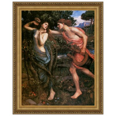 Apollo and Daphne, 1908 Replica Painting Canvas Art