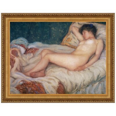 Sleep, 1903 by Frederick Carl Frieseke Framed Painting Print