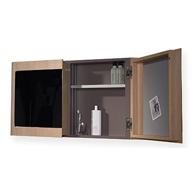 Whitehaus Collection Aeri Double Doors Medicine Cabinet