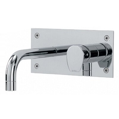 Whitehaus Collection Gyro Wall Mounted Bathroom Faucet with Single Lever Handle