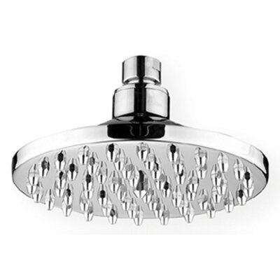 "Whitehaus Collection ShowerHaus 6"" Round Rainfall Shower Head"