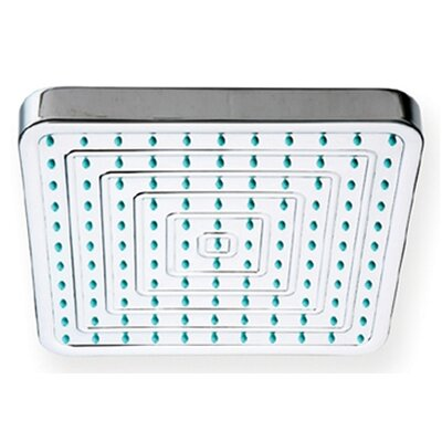 "Whitehaus Collection ShowerHaus 8"" Square Rainfall Shower Head"