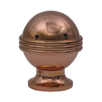 "Whitehaus Collection Cabinetry Hardware 1.125"" Round Knob"