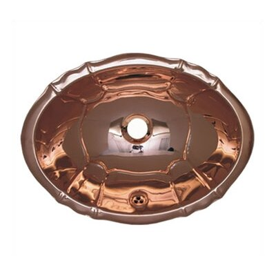 Decorative Smooth Oval Bathroom Sink - WH612BL