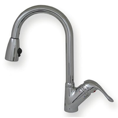 Rainforest One Handle Single Hole or Single Lever Kitchen Faucet