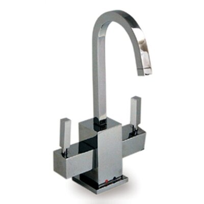 Forever Hot Q-Haus Two Handle Single Hole Kitchen Faucet
