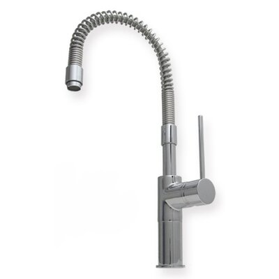 "Whitehaus Collection Metrohaus Commercial 13.5"" One Handle Single Hole Kitchen Faucet"