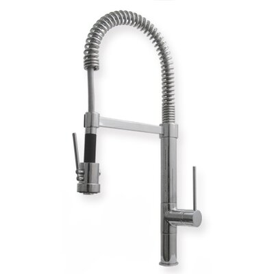 "Whitehaus Collection Metrohaus Commercial 7"" Single Handle Single Hole Bar Faucet with Long Handle"