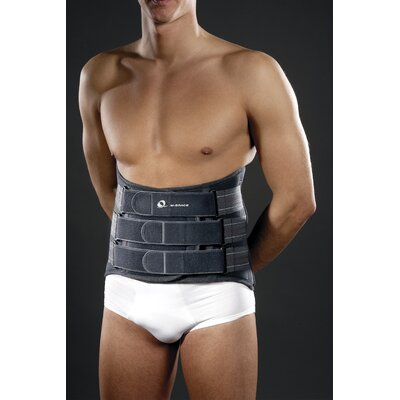 M-Brace M-Spine LSO Back Brace in Dark Grey