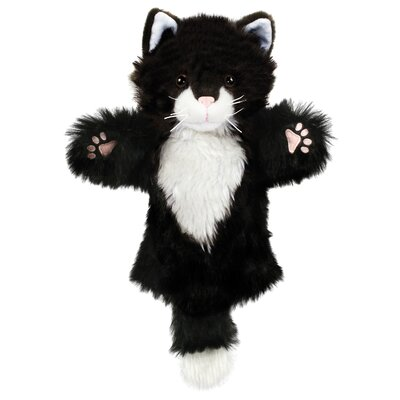 The Puppet Company CarPets Cat Puppet in Black and White