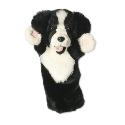 The Puppet Company Long-Sleeved Border Collie Glove Puppet