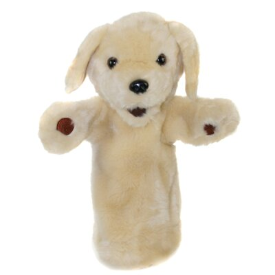 The Puppet Company Long-Sleeved Labrador Glove Puppet in Yellow