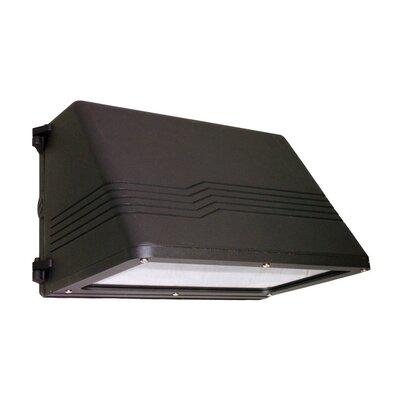 Deco Lighting 175w MHPS MT Medium Trapezoidal Cutoff Wall Light in Bronze