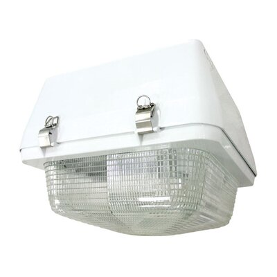 Deco Lighting 400W Canopy Pulse Start Flush Mounting White