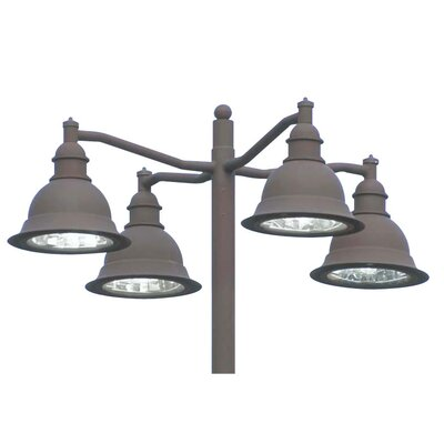 Deco Lighting Belltino 150W Outdoor Pendant in Dark Bronze