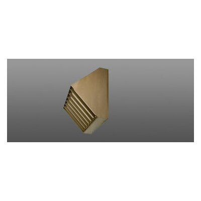 Deco Lighting 50W Louvered Wall Light in Bronze