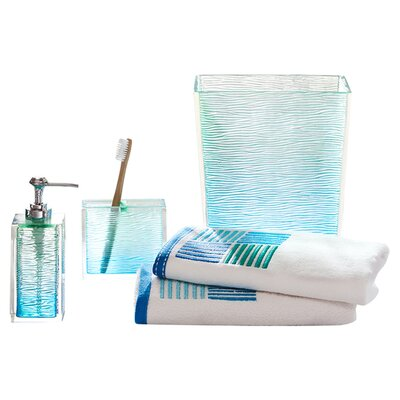 All bathroom accessories wayfair for Sea bathroom set