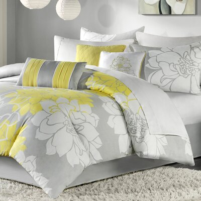 Madison Park Lola 7 Piece Comforter Set