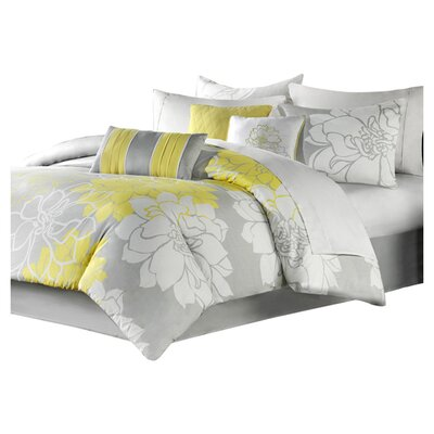 Madison Park Lola 7 Piece Comforter Set I