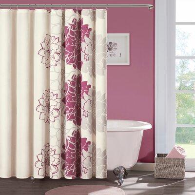 Madison park lola shower curtain reviews wayfair - Madison park bathroom accessories ...