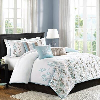 Madison Park Meadow 6 Piece Duvet Set